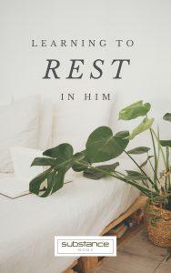 Devo_Learning to Rest